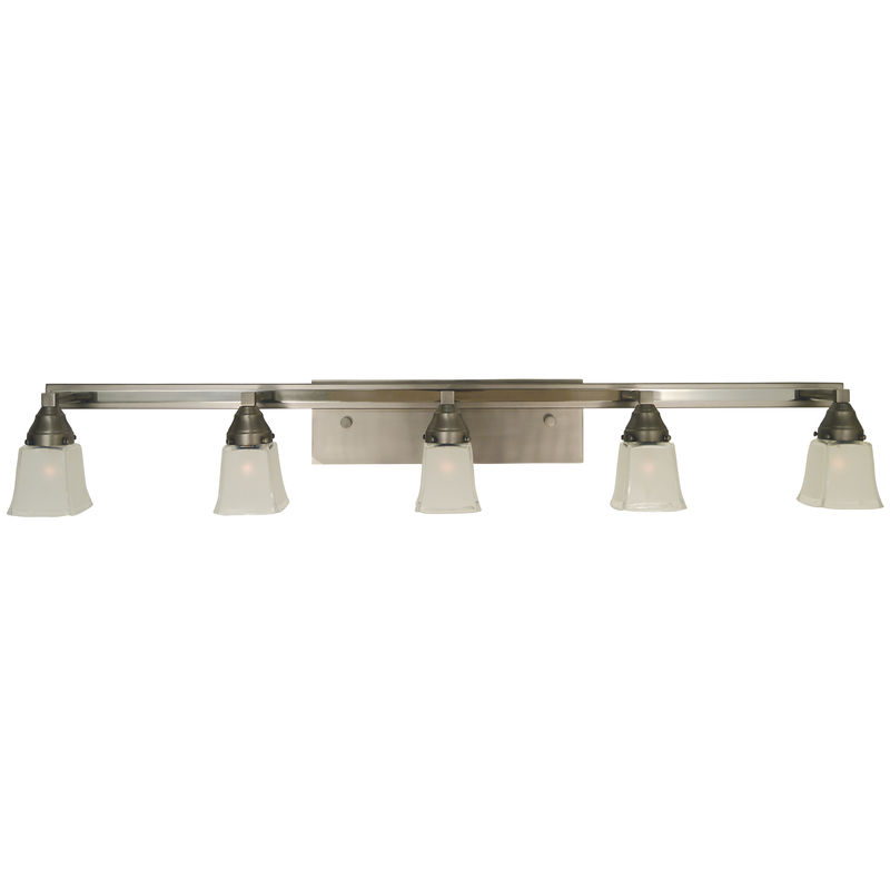 4775 Framburg Mercer 5 Light Bath and Sconce