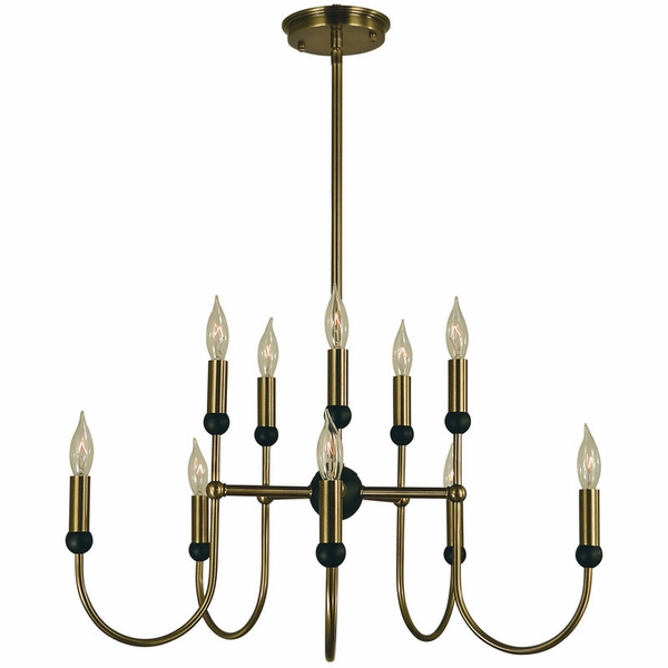 4795 Framburg Nicole 10 Light Dining Chandelier