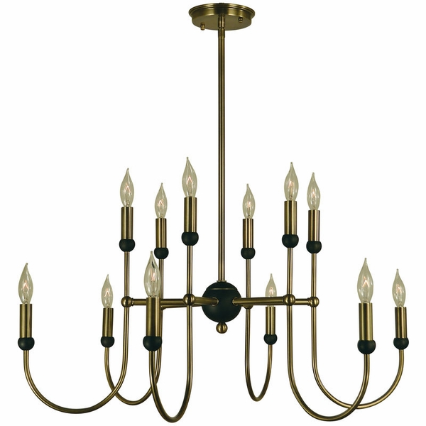 4798 Framburg Nicole 12 Light Dining Chandelier
