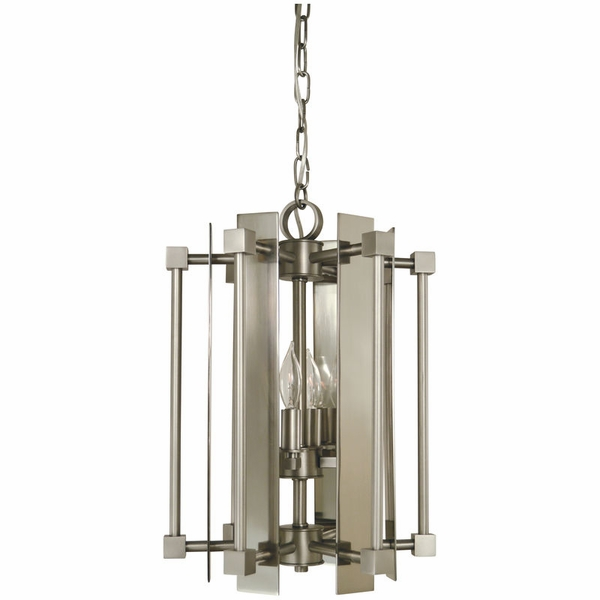 4804 Framburg Louvre 4 Light Mini Chandelier