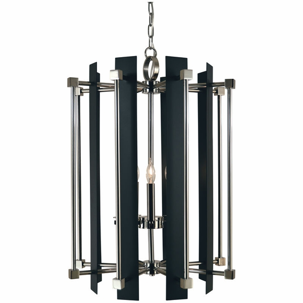 4805 Framburg Louvre 5 Light Foyer Chandelier