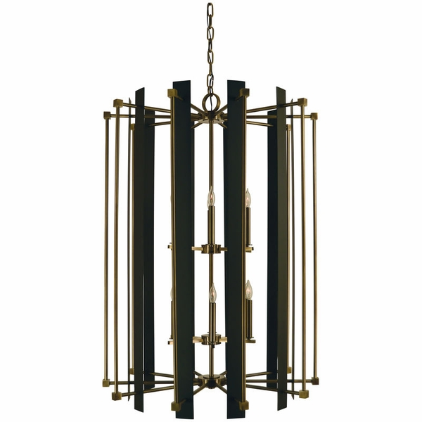 4806 Framburg Louvre 12 Light Foyer Chandelier