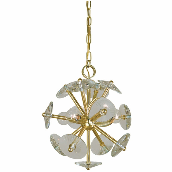 4814 Framburg Apogee 4 Light Mini Chandelier