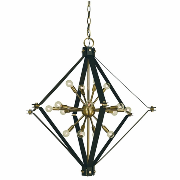 4820 Framburg Axis 16 Light Foyer Chandelier