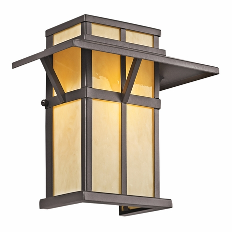 49045AZ Kichler Lodge-Country-Rustic-Garden Booth Bay 1 Light Outdoor Wall Mount (DISCONTINUED ITEM!)