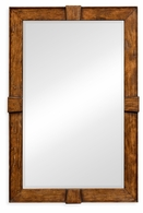 491011-CFW Jonathan Charles Fine Furniture JC Edited - Casually Country Country Walnut Rectangular Mirror