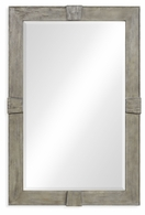 491011-RGA Jonathan Charles Fine Furniture JC Edited - Casually Country Rustic Grey Rectangular Mirror