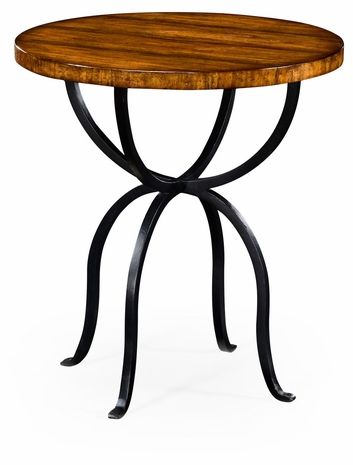 491072-CFW Jonathan Charles Fine Furniture JC Edited - Casually Country Round Side Table