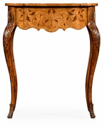 492776-SAM Jonathan Charles Windsor Small Marquetry Side Table