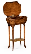 492085-WAL Jonathan Charles Windsor Walnut Workbox