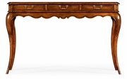 492109-WAL Jonathan Charles Country Farmhouse French Style Walnut Console