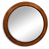 492155 Jonathan Charles Clean & Classic Large Round Eglomise Mirror