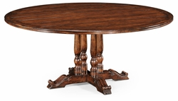 "492238-70D-WAL Jonathan Charles Country Farmhouse 70"" French Round Country Dining Table"