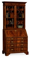 492260-MAH Jonathan Charles Georgian Style Mahogany Cabinet with Glazed Bars