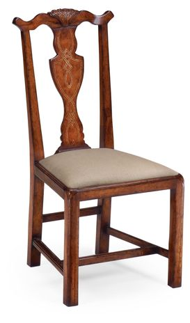 492280 Jonathan Charles Chippendale country chair (Side)