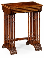 492600-MAH Jonathan Charles Buckingham Regency Mahogany Nest Of Tables