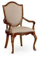 492646-AC-SAM-F001 Jonathan Charles Versailles Upholstered Shield Back Chair (Arm)