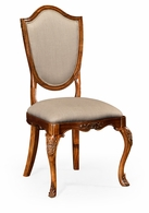 492646-SC-SAM-F001 Jonathan Charles Versailles Upholstered Shield Back Chair (Side)