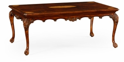 492664-MAH Jonathan Charles Buckingham Mahogany Cabriole Leg Coffee Table