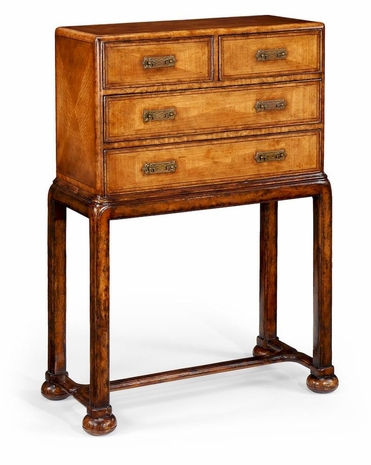 492676 Jonathan Charles Special Order Satinwood Chest On Stand