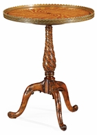 492712-WLL Jonathan Charles Windsor Spiral Inlay Lamp Table