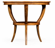 492726-SAL Jonathan Charles Two-tier marquetry centre table