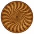 492755-WLL Jonathan Charles Windsor Spiral Inlaid Centre Table