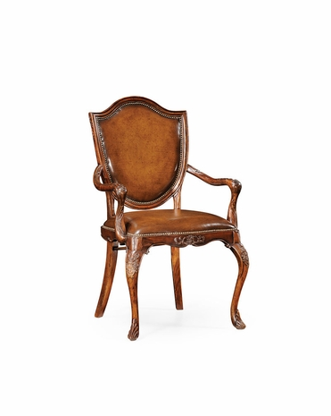 492927 Jonathan Charles Special Order Shield Back Arm Chair