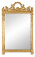 493060-GIL Jonathan Charles Versailles Empire Style Gilded Mirror