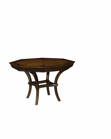 493602 Jonathan Charles Country Walnut Center Table