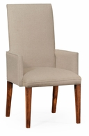 493898-AC-WAL-F001 Jonathan Charles Fully upholstered dining chair (Arm)