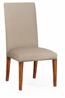 493898-SC-WAL-F001 Jonathan Charles Fully upholstered dining chair (Side)