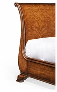 493941-USK-CWM Jonathan Charles Windsor Us King Walnut Sleigh Bed
