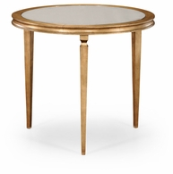 494066-G Jonathan Charles Fine Furniture JC Modern - Luxe Italian Gilded Centre Table