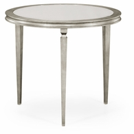 494066-S Jonathan Charles Fine Furniture JC Modern - Luxe Italian Silver Centre Table
