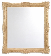 494122-GIL Jonathan Charles Versailles French Style Gilded Grisaille Mirror