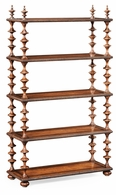 494166 Jonathan Charles Bingley Gadrooned Five-Tier Etagere