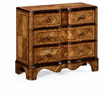 494343-MAW Jonathan Charles Moroccan Large Argentinian Walnut Chest Of Drawers
