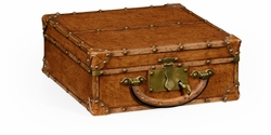 494670-L002 Jonathan Charles Point of Sales Travel Trunk Style Box