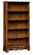 495019-MAW Jonathan Charles Moroccan Tall Argentinian Walnut Open Bookcase