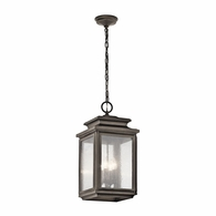 49505OZ Kichler Traditional Outdoor Hanging Pendant 4Lt