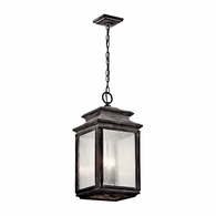 49505WZC Kichler Traditional Outdoor Hanging Pendant 4Lt