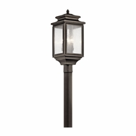 49506OZ Kichler Traditional Lantern Outdoor Post Mount 4Lt
