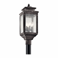 49506WZC Kichler Traditional Lantern Outdoor Post Mount 4Lt