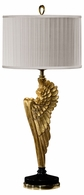 495118-GIL Jonathan Charles Fine Furniture JC Modern - Icarus Angel Wing Gilded Table Lamp