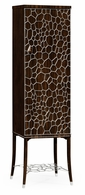 495189-AMA Jonathan Charles Fine Furniture JC Modern - Soho Macassar Ebony Drink Cabinet With White Brass Inlay