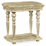 495304-LMA Jonathan Charles Fine Furniture JC Edited - Artisan Limed Acacia Side Table