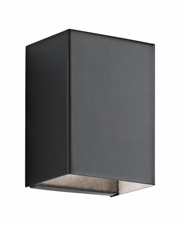 49550BKTLED Kichler Contemporary - Small Indoor/Outdoor Wall 1Lt LED
