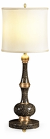 495526-EA001 Jonathan Charles Fine Furniture JC Modern - Indochine Midnight Snakeskin Eggshell Table Lamp