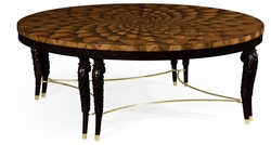 495633-ZEB Jonathan Charles Fine Furniture JC Modern - Icarus Feather Inlay Coffee Table